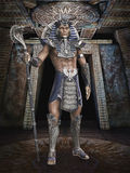 Fantasy pharaoh Royalty Free Stock Photography