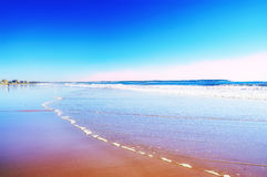 fantasy picture ocean coast. Royalty Free Stock Images