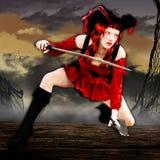 Fantasy Pirate Art Stock Image