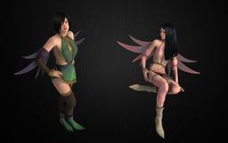 Fantasy pixie bundle Stock Photos