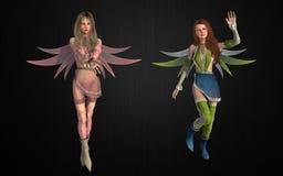 Fantasy pixie bundle Stock Photo
