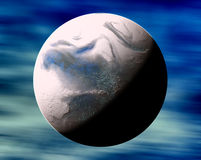 Fantasy planet Stock Photography