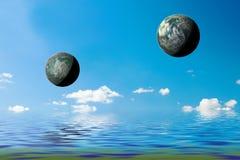 Fantasy planets Stock Photos