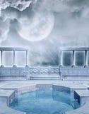 Fantasy pool 1 royalty free illustration