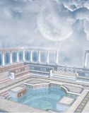 Fantasy pool 2 Royalty Free Stock Photos