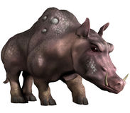 Fantasy rhinoceros monster Royalty Free Stock Photography