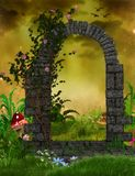 Fantasy Rose Arch Royalty Free Stock Images