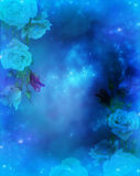Fantasy Rose background Royalty Free Stock Photography