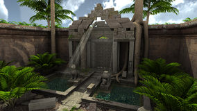 Fantasy ruins Royalty Free Stock Photo