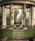Fantasy scenery 23. Gothic background for personal or commercial use Stock Images
