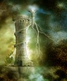 Fantasy scenery 26 royalty free illustration
