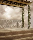 Fantasy scenery 42. Fantasy background for personal or commercial use Royalty Free Stock Image