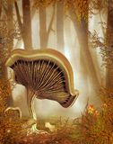 Fantasy scenery 85. Fantasy background for personal or commercial use Stock Illustration