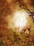 Fantasy scenery 86. Fantasy background for personal or commercial use stock illustration