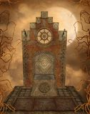 Fantasy scenery 91. Fantasy background for personal or commercial use royalty free illustration