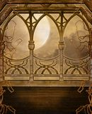 Fantasy scenery 93 stock illustration