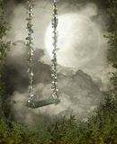 Fantasy scenery 95. Fantasy background for personal or commercial use royalty free illustration
