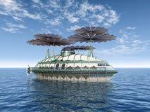 Fantasy Ship Stock Image
