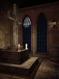 Fantasy shrine Stock Image