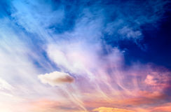 Fantasy sky Stock Images