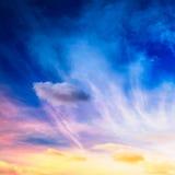 Fantasy sky Stock Photography