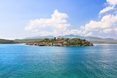 Fantasy small island Cayo Granma Royalty Free Stock Photo