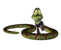 Fantasy snake 1 Royalty Free Stock Photos