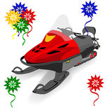 Fantasy snowmobile Royalty Free Stock Photography
