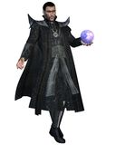 Fantasy sorcerer 3 Royalty Free Stock Images