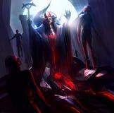 Fantasy sorcerer Stock Images