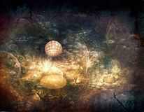 Fantasy space backgrounds Royalty Free Stock Photography