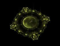 Fantasy space time. 3d fantasy space time piece Royalty Free Stock Photos