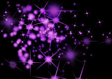 Fantasy star background Royalty Free Stock Photos