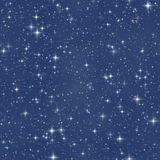 The fantasy star night sky Stock Images