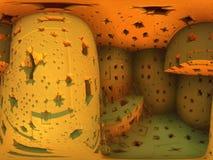 Fantasy Stone Room Stock Image