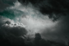 Fantasy stormy sky. Dark stormy clouds fantasy background stock photos