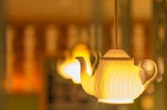Fantasy Style Candle Lamp Stock Photo