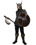 Fantasy Style Viking Warrior Royalty Free Stock Photos