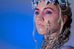 Fantasy sugar make up Royalty Free Stock Images