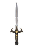 Fantasy sword. Medieval fantasy sword isolated on white background stock images
