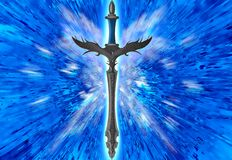 Fantasy sword Stock Photo