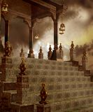 Fantasy temple 10 Royalty Free Stock Photo