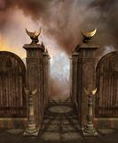 Fantasy temple 2 Royalty Free Stock Images
