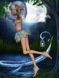 Fantasy Toon Figure Stock Image