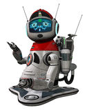 Fantasy toon robot Stock Images