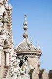 Fantasy Tower. A fantasy castle tourist landmark found in Benalmadena Spain, comemerating Christopher Columbus Stock Images
