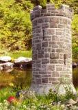 Fantasy Tower background Stock Image