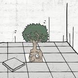 Fantasy tree Stock Image