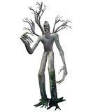 Fantasy tree creature 1. 3D render of a fantasy tree creature royalty free illustration
