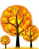 Fantasy_trees Illustration de Vecteur